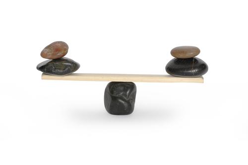 Balancing-scales