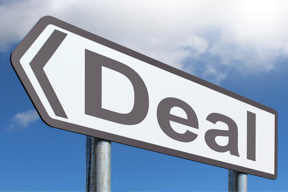 Deal Sign Image